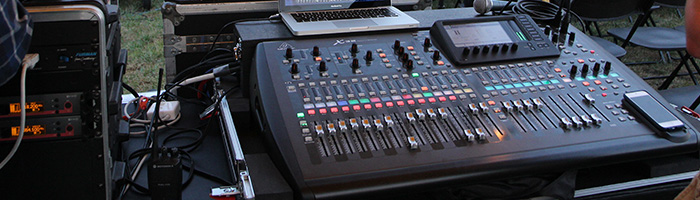 Production Technical Sound Light Control Board